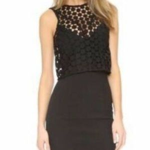 Nicholas the Label Geo Lace Two Layered Gown